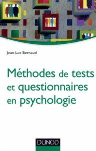 Méthodes de tests et questionnaires en psychologie